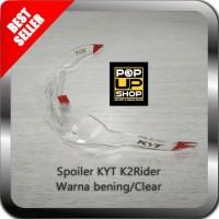 Spoiler Buntut Helm KYT K2 Rider K2R