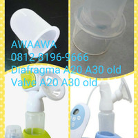 valve claire's A20 A30 pompa asi manual claires breastpump breast pump