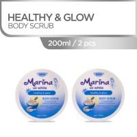 Marina UV White Body Scrub Healthy & Glow [2 Pcs] Temposcan