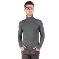 Turtle Neck / Sweater Pria Bahan Rajut Cocok Untuk Cuaca Dingin / Baju