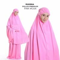 Mukena Bali Polos Pink