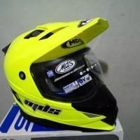Helm MDS Super Moto Super Pro Solid Double Visor