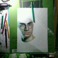 lukisan sketsa wajah