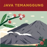 Kopi Fine Robusta Java Temanggung Baron 250gr