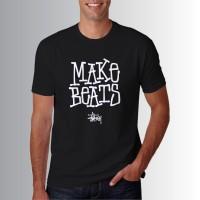 Kaos Baju Distro Pria Wanita T-Shirt STUSSY W6164