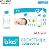 BKA Botol ASI Kaca 1 box isi 8 pcs