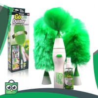 GoDust Electric Home Duster Powered By AAA Battery / Kemoceng