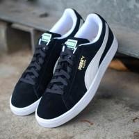 Sepatu Casual Puma Suede Classic Black White Original 100% BNIB!