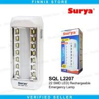 SURYA SQL L2207 Lampu Senter Led Emergency Lampu Darurat Portable