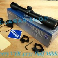 Telescope discovery VTR 4x32 Half Mildot