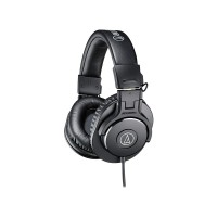 Audio -Technica ATH-M30x Professional Studio Monitor Headphones -Black