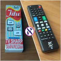 Remote TV SHARP Lcd Led Flat Tabung