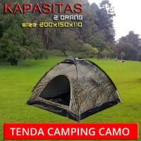 tenda camping camo kapasitas 2 orang