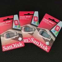 Flashdisk Sandisk Cruzer Blade 16GB Original 100% Garansi 5 Tahun