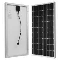 Solar Panel Monocrystalline 100 Wp Surya Cell Power Watt Peak 100Wp