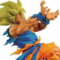 Banpresto Figure Colosseum Dragon Ball SonGoku Super Saiyan Kamehameha