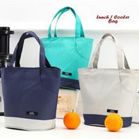 COOLER BAG TAS BEKAL AWET PANAS DINGIN MODEL TENTENG 2 WARNA RESLETING