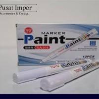 Spidol Ban TOYO PUTIH - Paint Marker Toyo Kualitas Terbaik