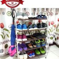 Rak sepatu payung holder NAVY ALUMINIUM - KINbar