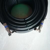 Kabel antena tembok ke tv platinum plus jack compress male L to L 10m