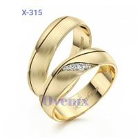 Cincin Kawin Cincin Tunangan Nikah Cincin Emas Couple X-315