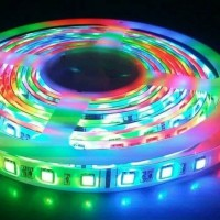 Lampu Led Strip RGB 5050 / Lampu Led Strip Hias Plafon Warna Warni