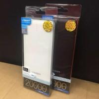 Powerbank Veger V80 20000 mAh free USB kipas Angin ORIGINAL 100%