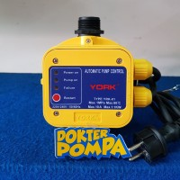 YORK PRESSURE CONTROL YRK - 01, AUTOMATIC PUMP CONTROL, AUTOMATIC