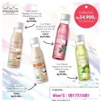 Love nature shampoo for dandruff control tea tree oil & burdock