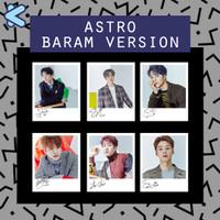 Signed Kpop Polaroid Astro Baram Version