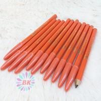 Pensil Alis Davis Orange Warna Coklat isi.12