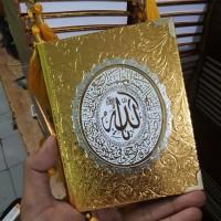 Cetak Buku Yasin Hardcover RCP Metalik 128 Halaman HVS