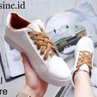 READY STOCK! Sepatu Wanita Putih Kets Import Kualitas Premium