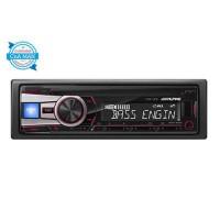 Alpine CDE-151E Single Din Head Unit CD Receiver USB IPOD MP3