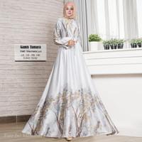 Baju Busana Muslim Gamis Syari Pesta Wanita Maxmara Tamara Terbaru