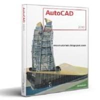 AutoCad 2010 Full Version & Tutorial install training beginner for