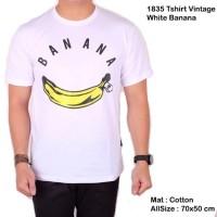 Baju Kaos Lengan Pendek Pria Kaos Cowok Banana