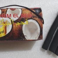 Briket Arang Batok Kelapa 1Kg Super 100% Natural - Fahem El Beiik