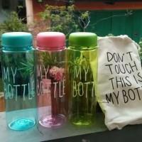My Bottle full colour Transparan free pouch serut