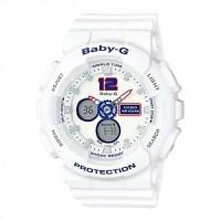 Jam Tangan Casio Baby-G Wanita Analog Digital Putih BA-120TR-7BDR