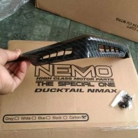 DUCTAIL NMAX CARBON - DUCKTAIL CARBON NEMO YAMAHA NMAX