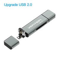Vention [CCG] AllIn1 USB Card Reader Micro SD TF High Speed Type-C OTG - CCJ