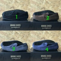 Sepatu Slip On Kulit Suede Mining Shoes Original High Quality Sneaker
