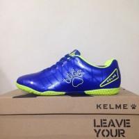 Sepatu futsal / putsal / footsal Anak Kelme Star 9 Junior Royal Lime 1