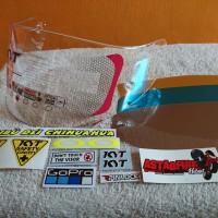 Flat visor kyt R10 RC7 K2R Paket pinlock