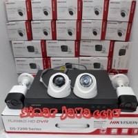PROMO PAKET CCTV 4CHANEL HIKVISION 5MP (KMPLIT TGGL PSNG)