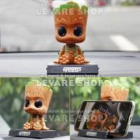 Aksesoris Boneka Dashboard Mobil - Pajangan Action Figure Groot Marvel