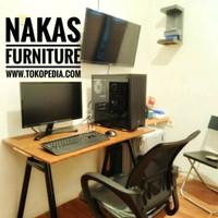 Meja kerja 100x50 Meja Kantor Meja Komputer Meja Belajar