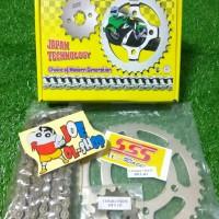 gear gir set chain kit sss vixion mx king