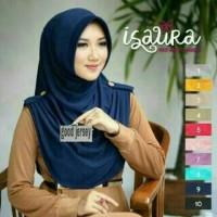 Premium jilbab instan kerudung instan bergo ISAURA Syari